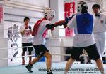 女子ボクシング合同練習会1